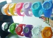 Relojes colores , nueva colección, imitación ice y toy watch