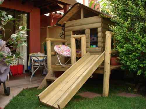 Casas de mu eca de madera las condes doplim 79882 for Casas madera ninos jardin