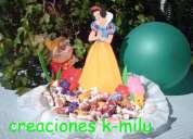 Fiestas de cumpleaños, centros de mesa, dulceros ,adornos, etc.