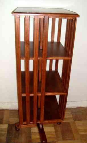 Librero Giratorio (Alto, Mediano y Bajo) simple o cruzetas Raulí