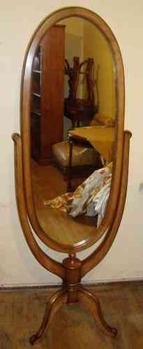 Espejo batiente desmontable de Lingue