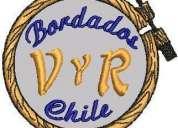 Parches y logos bordados v y r