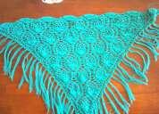 Venta de tejidos a crochet región de los rios