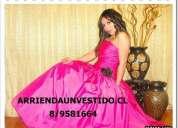 Arriendo vestidos fiestas 8-9581164  tenemos mas de 850 vestidos