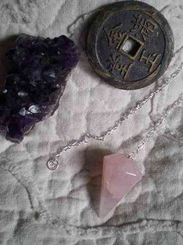 Pendulos de Piedras Naturales