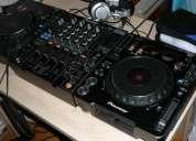 2x pioneer cdj-1000mk3 & 1x djm-800 mixer dj package + 1hdj  2000 headphones