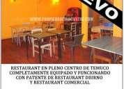 (155) restaurant en pleno en  pleno centro