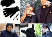 Guantofonos o guantes bluetooth para contestar el celu en el frio