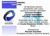 Administrativo recursos humanos ($250.000 líquido).