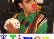 Mago viña del mar - mago timon (magia y clown)