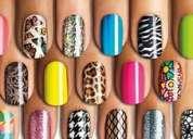 Curso manicure depilación uñas acrílicas y pestañas para regiones