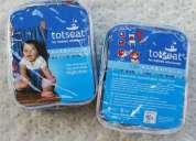 Silla de comer portable para bebes y niños 100% algodon