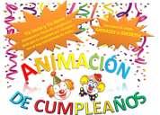 Animacion de cumpleaños