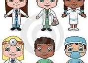 Se necesitan paramédicos y auxiliares