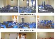 Salas para capacitación