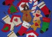 Accesorios navidad 2013  para el àrbol o regalos realizados en fieltro y diversas aplicaciones