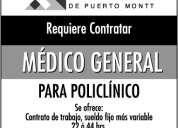 Medico general para policlínico