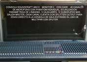 Remate de bodega equipos audio profesional nuevos y usados microfonos consolas powers parlantes