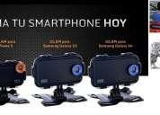 Carcasa iclam para iphone 4 4s 5 conversora en camara extrema deportiva