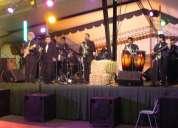 Grupo banda orquesta conjunto tropical san cristobal ameniza fiestas patrias matrimonio evento