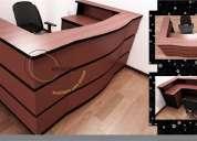Fabricacion muebles recepciones