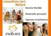 Tu puedes ser consultora/or natura