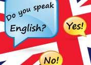Clases de inglés con profesora nativa de inglaterra