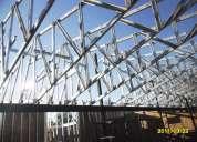 Construcciones en metalcon tabiqueros casas-locales comerciales cielos techumbres
