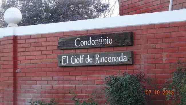 Escobar Propiedades Vende CASA EN CONDOMINIO EL GOLF DE RINCONADA