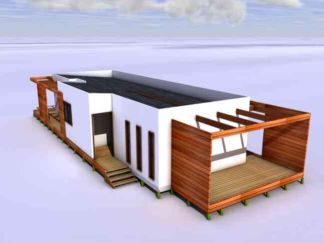 Casas prefabricadas 120 m2 san ram n doplim 122232 for Casas prefabricadas mediterraneas