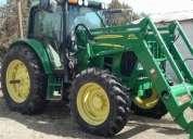 Tractor john deere 6420 con cargador