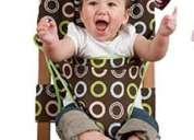 Silla de comer para bebes y niños portable de genero 100% algodon