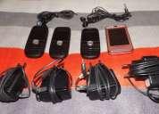 Vendo usados y funcionando celulares cámaras fotográficas disco duro externo y un netbook