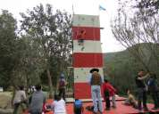 Muro de escalada 7 metros