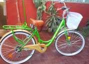 bicicleta nueva de paseo