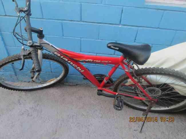 Bicicleta Bianchi mtb pro st