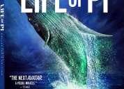"""bluray nuevo y sellado: """"life of pi en 3d"""" (una aventura extraordinaria) versión 3 discos"""