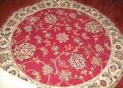 alfombra para comedor - redonda