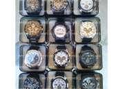 Caja 12 relojes bistec