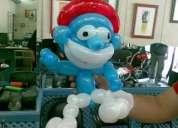 Vendo globoflexia, figuras con globos