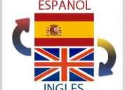 Traduzco a distancia español-inglés