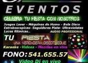 Dj tatan musica e iluminacion video dj para fiestas