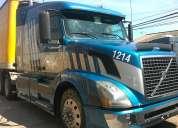 Vendo camión volvo año 2005 con rampla piso metálico