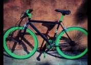 Bicicleta fixie custom unica