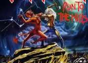 Iron maiden run to the hills single