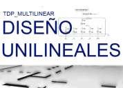 Software tdp_multilinear orientado al diseño/dibujado de unilineales en segundos