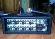Amplificador power mixer