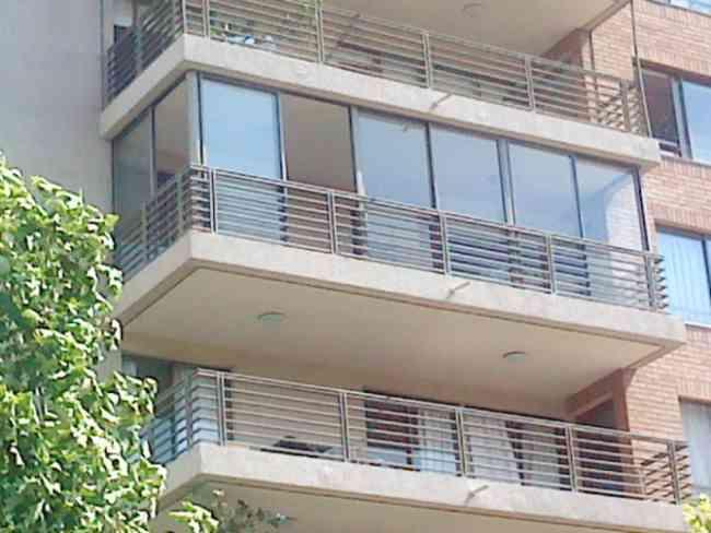 Cierre De Balcon Ventanas De Aluminio Termopanel Santiago