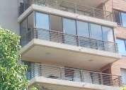 Cierre de balcon ventanas de aluminio termopanel