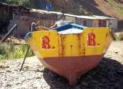 Bote de madera talcahuano
